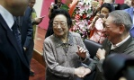 Dr Tu Youyou has been honoured for her work in the field of antimalarial drugs. Photograph: China Daily/Reuters